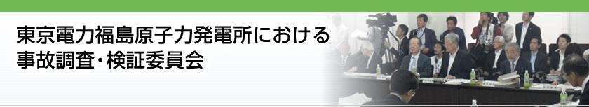 東京電力福島原子力発電所におけ...